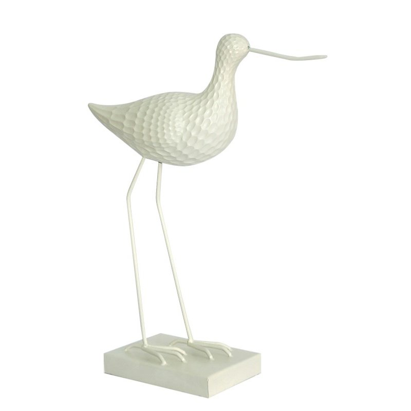 Moe's Home Collection Sandpiper Sculpture in White (SG-1009-30)