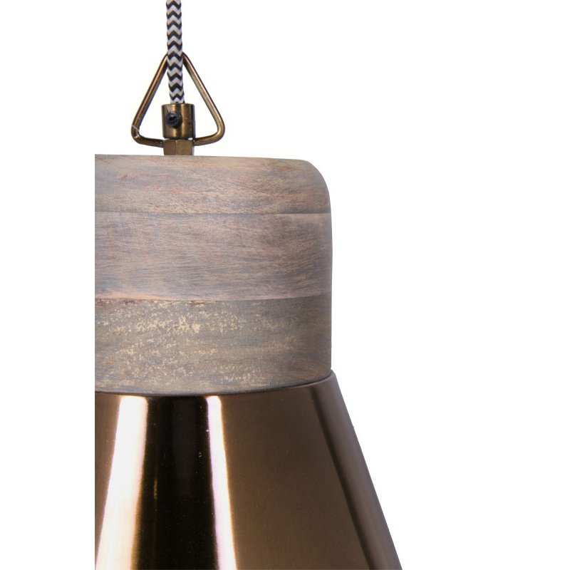 Moe's Home Collection Saul Pendant Lamp in Gold (IP-1009-32)