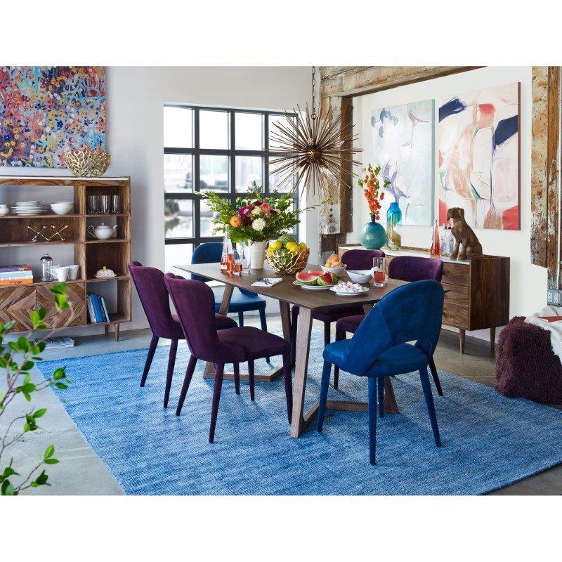 Moe's Home Collection Serano Rug 8' x 10' Blue Rectangle (JH-1020-26)