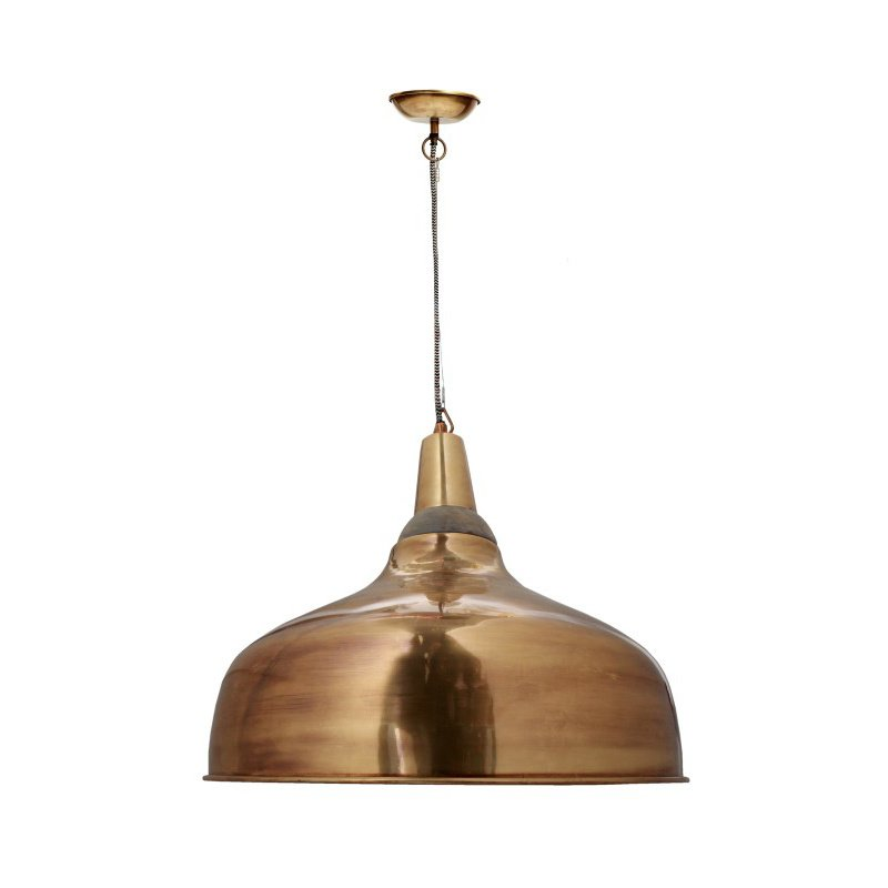 Moe's Home Collection Silas Pendant Lamp in Gold (IP-1002-32)