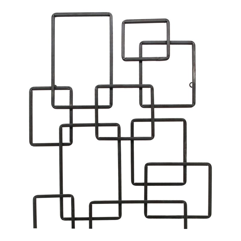 Moe's Home Collection Steel Squares Wall Decor (HW-1083-02)