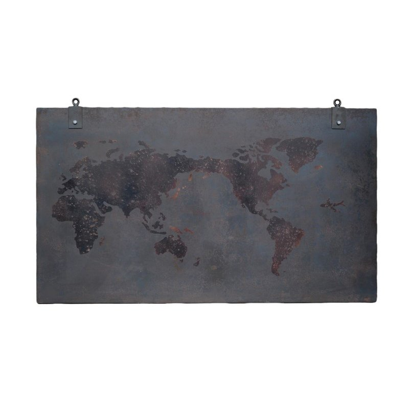 Moe's Home Collection Steel World Wall Decor (ML-1005-41)