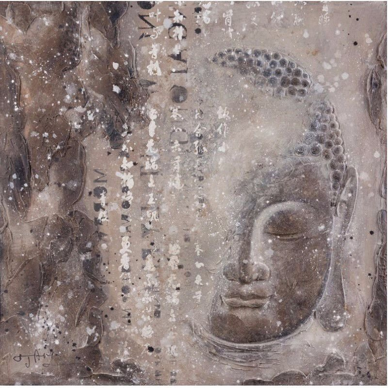 Moe's Home Collection Subtle Buddha I (WP-1103-37)