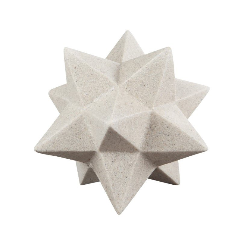 Moe's Home Collection Triangle Overlay Scuplture (HW-1059-18)