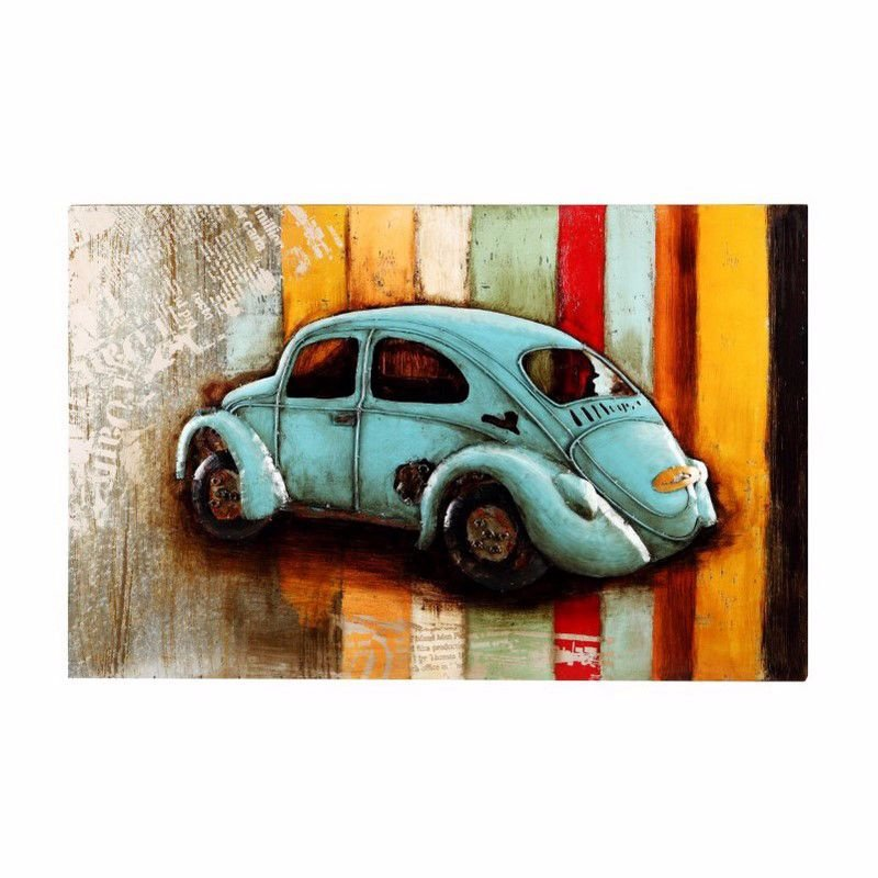Moe's Home Collection Vintage Beetle Wall Decor (PR-1007-37)