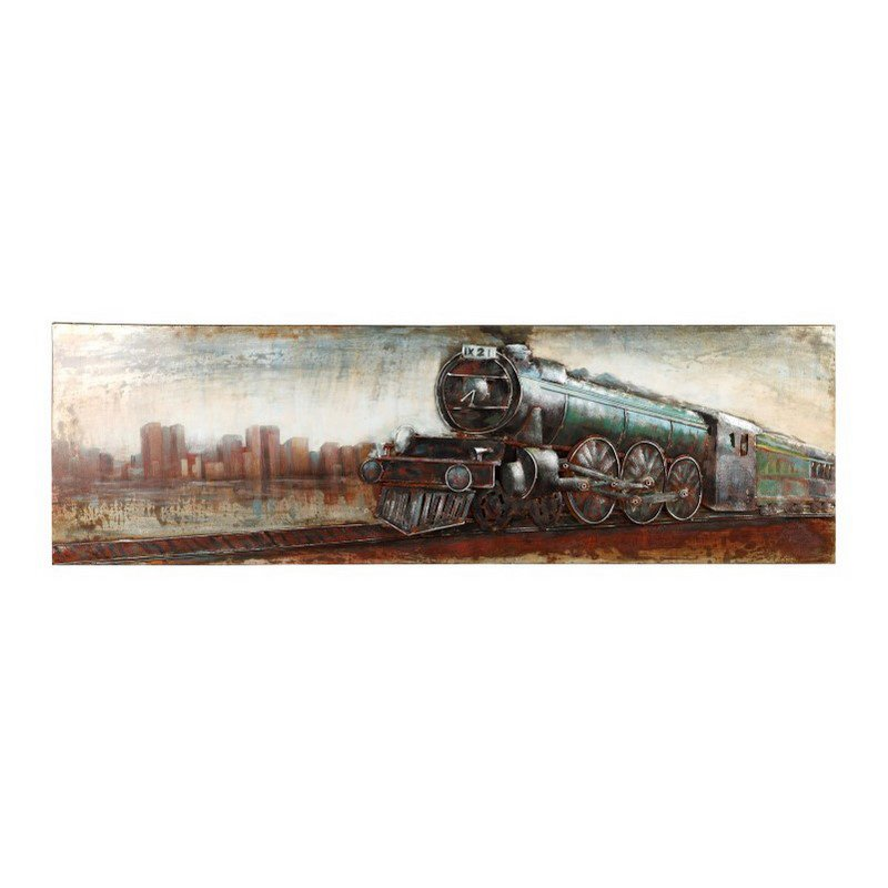 Moe's Home Collection Vintage Locomotive Wall Decor (PR-1008-37)