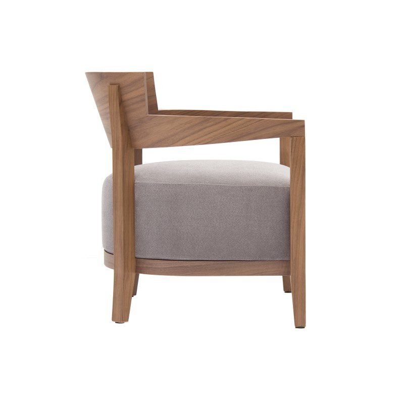 Moe's Home Collection Volta Arm Chair in Grey (AD-1031-25)