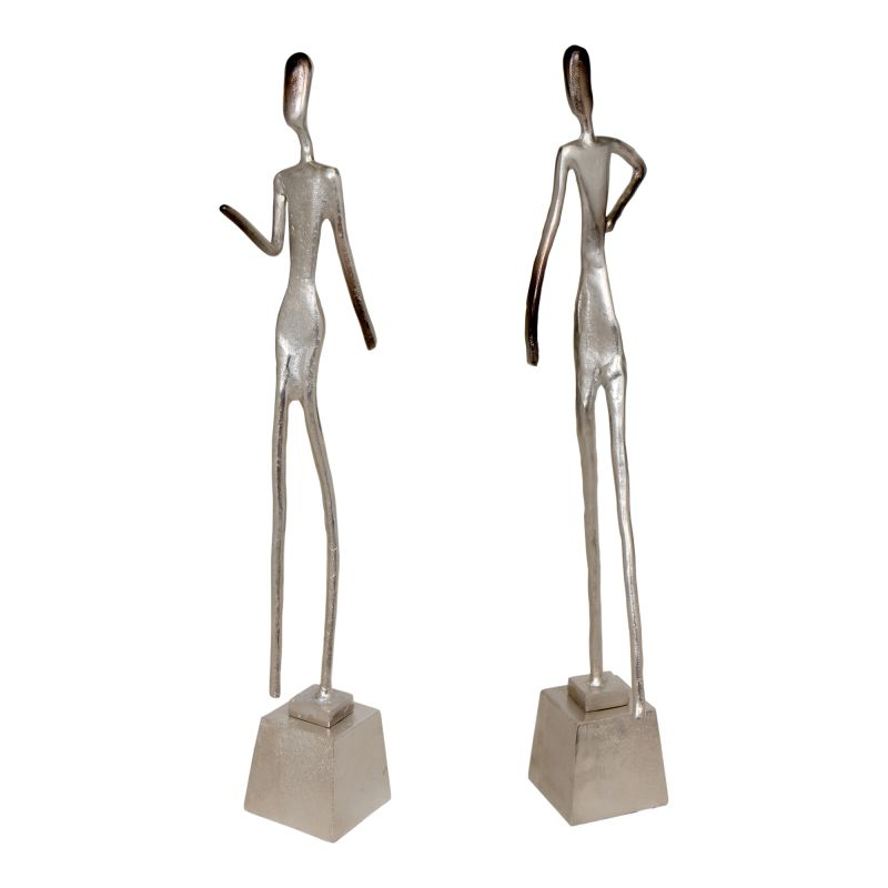 Moe's Home Collection Walking Figures - Set of 2 (IX-1039-30-S2)