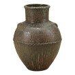 Moe's Home Collection Zelena Terracota Vase in Green (PY-1123-16)
