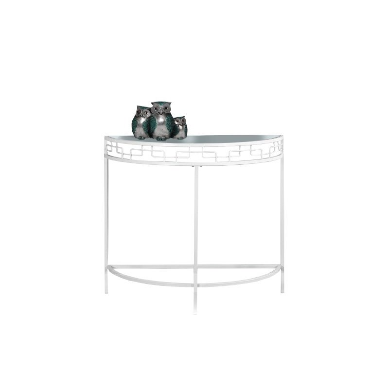 "Monarch 36"" Console Table in White"