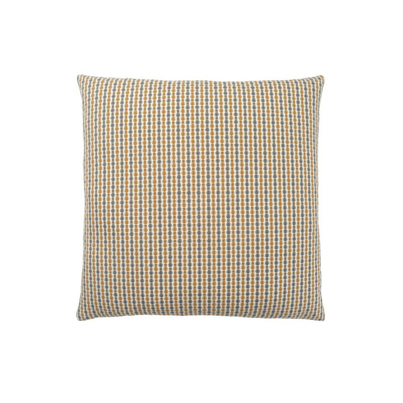 """Monarch Specialties 18"""" x 18"""" Pillow in Gold / Grey Abstract Dot / 1pc (I 9234)"""