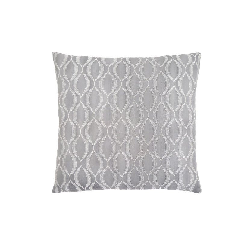 """Monarch Specialties 18"""" x 18"""" Pillow in Grey Wave Pattern / 1pc (I 9346)"""
