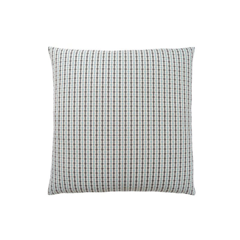 """Monarch Specialties 18"""" x 18"""" Pillow in Light Blue / Grey Abstract Dot / 1pc (I 9230)"""