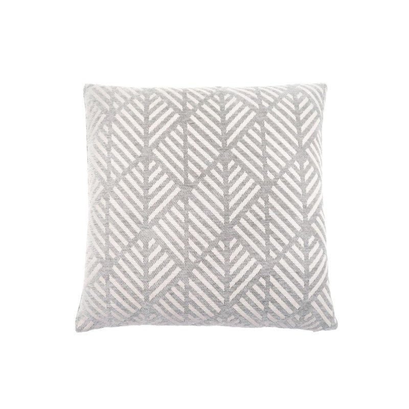 "Monarch Specialties 18"" x 18"" Pillow in Light Grey Geometric Design / 1pc (I 9200)"