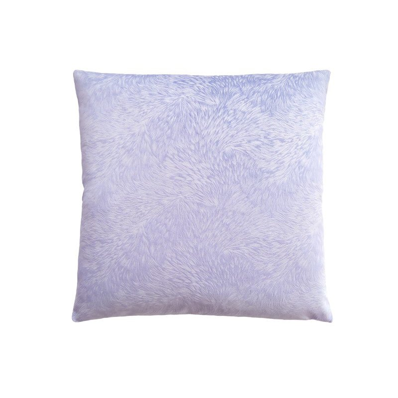 """Monarch Specialties 18"""" x 18"""" Pillow in Light Purple Feathered Velvet / 1pc (I 9324)"""