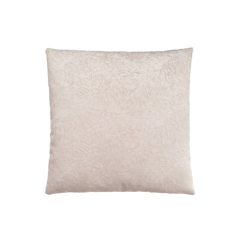 """Monarch Specialties 18"""" x 18"""" Pillow in Light Taupe Feathered Velvet / 1pc (I 9318)"""