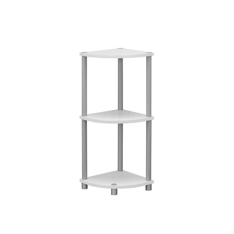 """Monarch Specialties 30""""H Accent Table in White Or Black Reversible (I 3138)"""