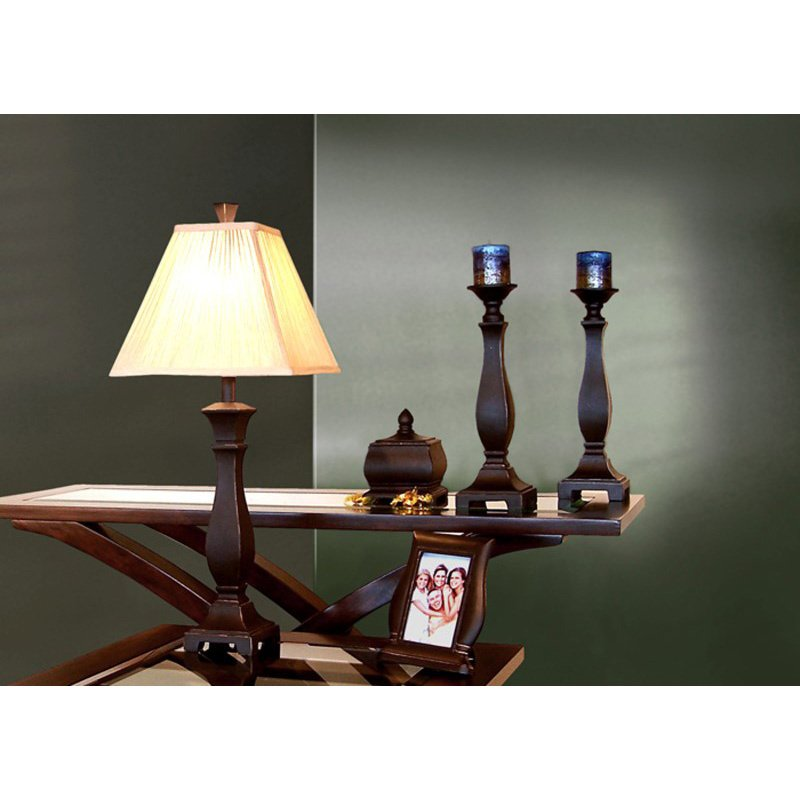 Monarch Specialties Lamp/Bowl/Frame/Candlesticks - 5 Pieces Gift Bo x in Black (I 6791)