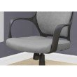 Monarch Specialties Office Chair in Grey Microfiber / High Back Executive (I 7250)