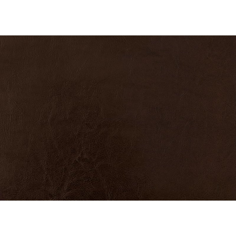 Monarch Specialties Queen Size Bed in Brown Leather-Look with Wood Legs (I 5982Q)
