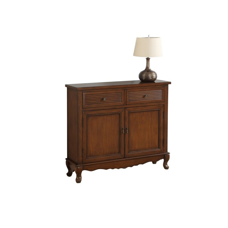 Monarch Traditional Style Accent Chest in Dark Walnut