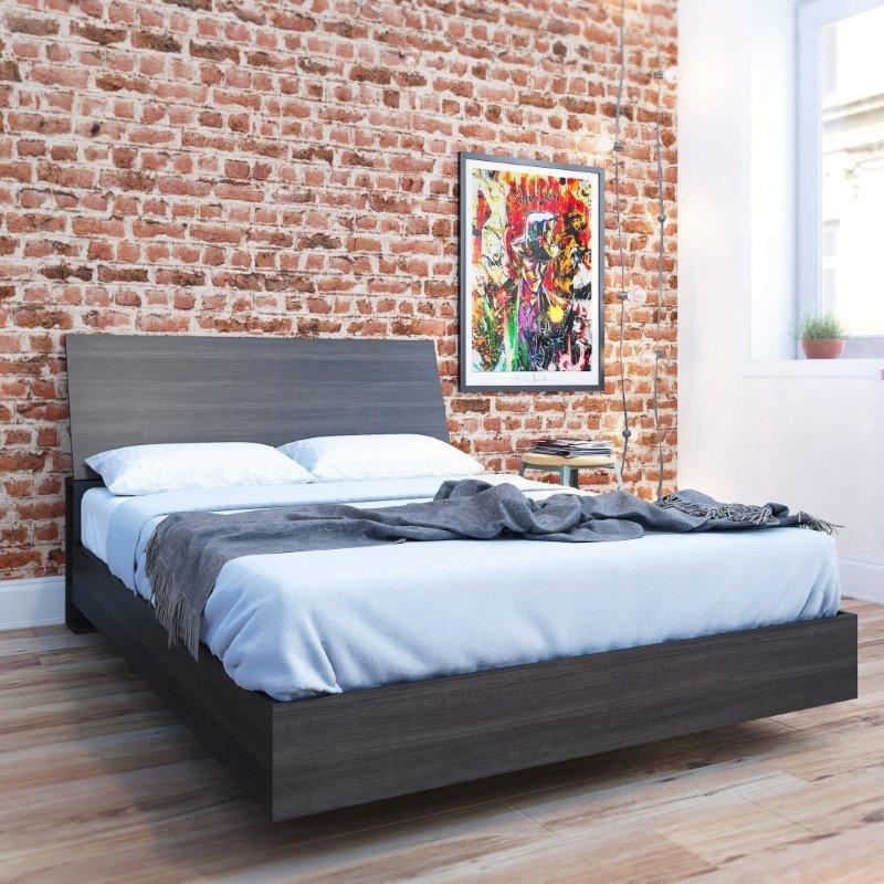 Nexera 2-Pieces Full Size Platform Bedroom Set in Ebony (400757)