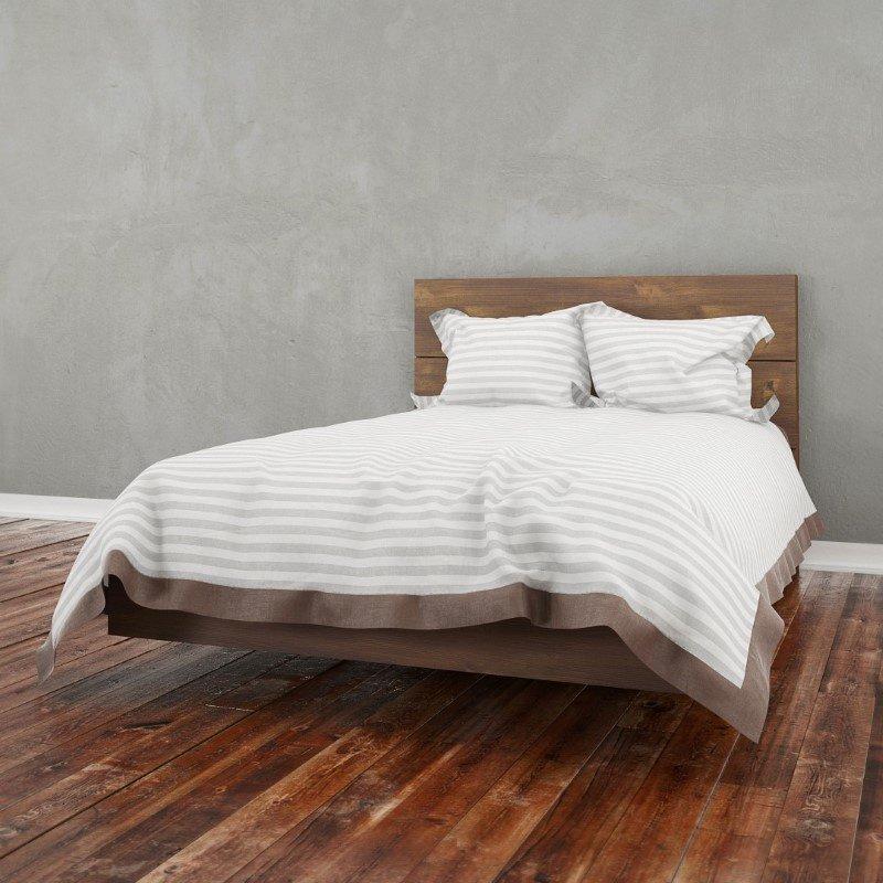 Nexera 2-Pieces Full Size Platform Bedroom Set in Truffle (400860)