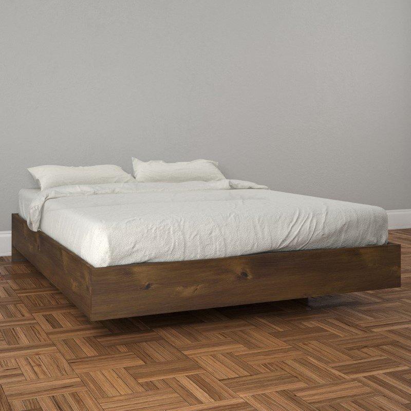 Nexera Full Size Platform Bed in Truffle (401254)