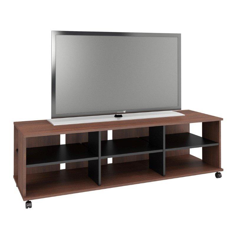"""Nexera Jasper 60"""" TV Stand in Moka and Black"""