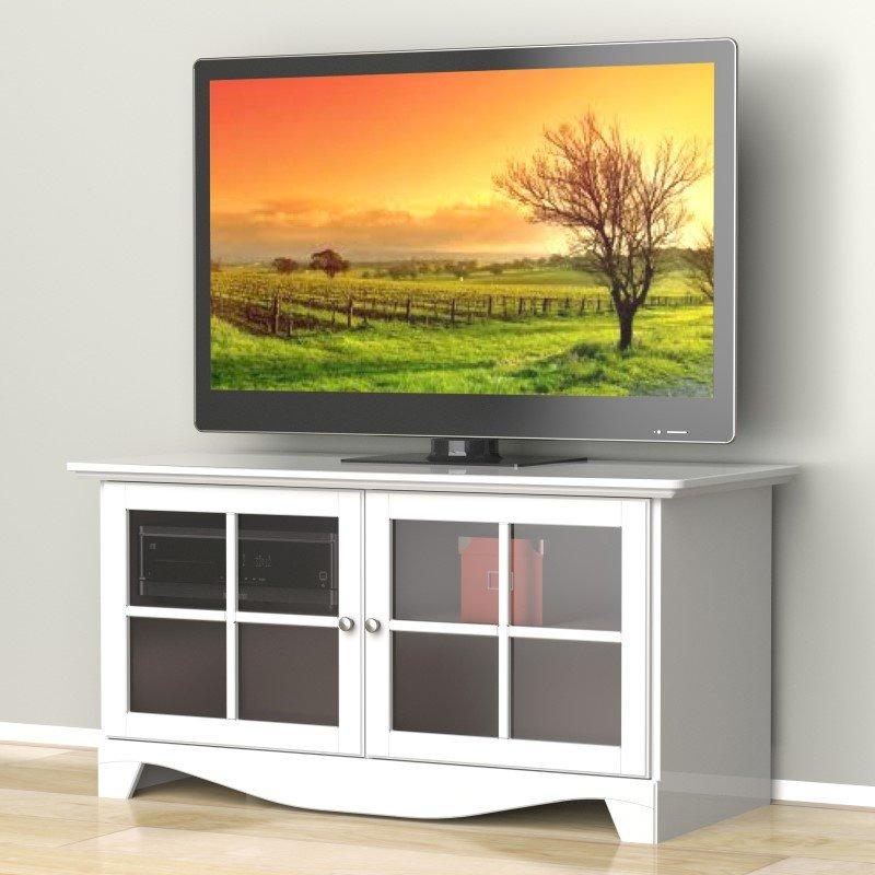 """Nexera Pinnacle 49"""" TV Stand in White"""