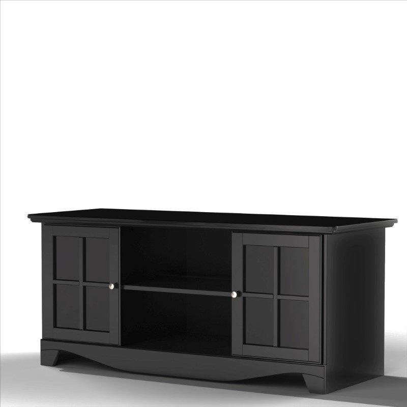 "Nexera Pinnacle 56"" TV Stand in Black"