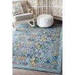 nuLOOM Alona Botanic Garden 5' x 8' Rectangle Rug in Light Blue (YKNV12A-508)