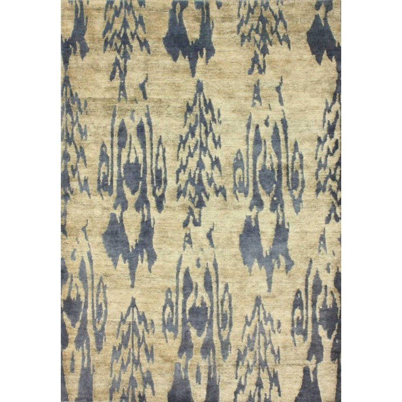 "nuLOOM Angelika Hand-Knotted Hemp And Wool Rug 2' 8"" x 8' Natural Runner (ELEV01A-2808)"