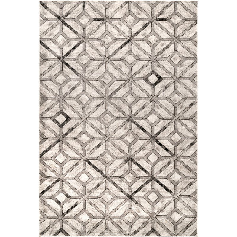 nuLOOM Blakely Diamond Tiles 9' x 12' Rectangle Rug in Beige (YKMM10A-9012)