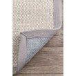 nuLOOM Bordered Chloe Sisal 8' x 10' Rectangle Rug in Grey (ZHSS05A-8010)
