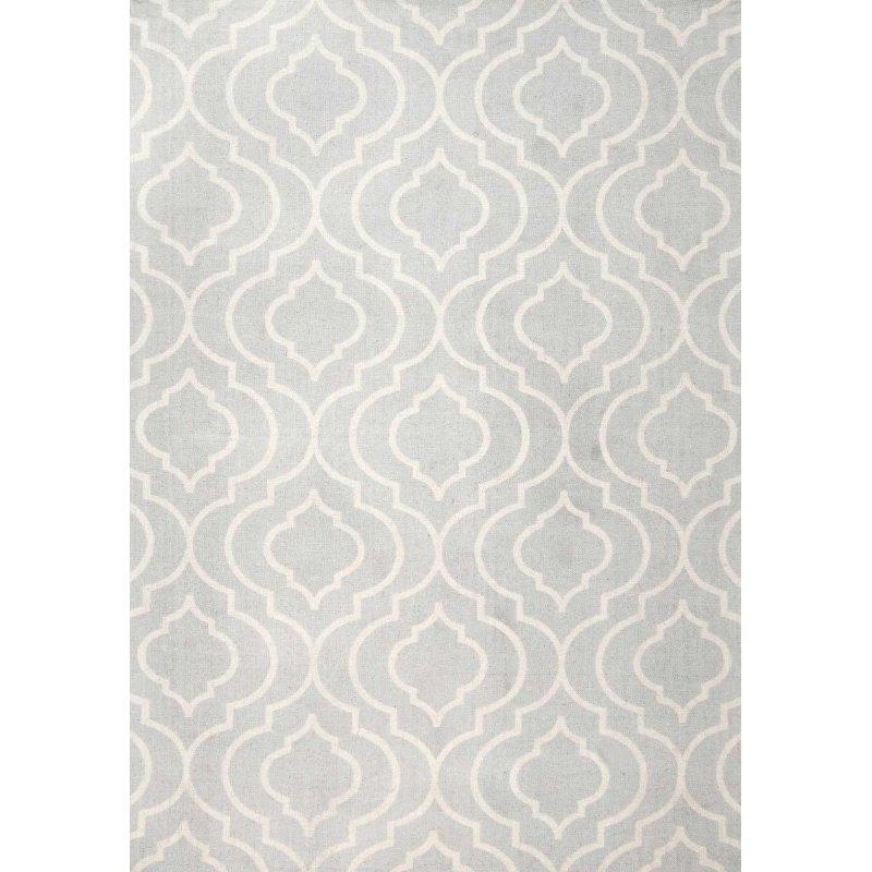 nuLOOM Bridget Trellis Rug 8' x 10' Light Grey Rectangle (AIST01C-8010)