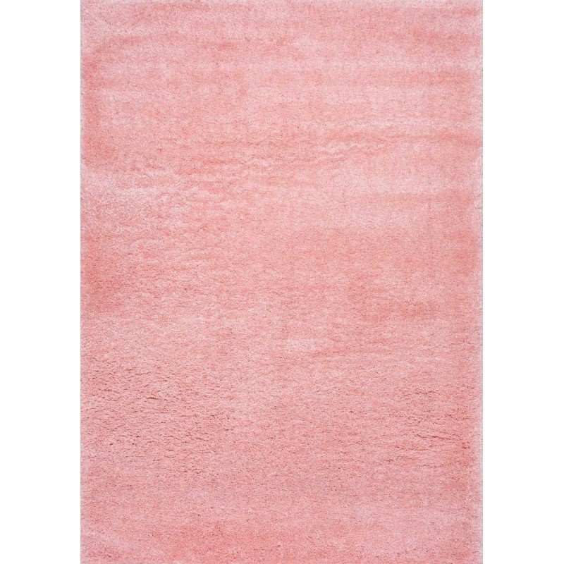 "nuLOOM Gynel Cloudy Shag Rug 3' 3"" x 5' Baby Pink Rectangle (OZAS01E-3205)"