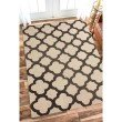 nuLOOM Hand Hooked Nora Area Rug 6' x 9' Beige Rectangle (HJHK06A-609)