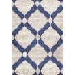 nuLOOM Hand Knotted Casandra Rug 6' x 9' Navy Rectangle (ELEV09A-609)