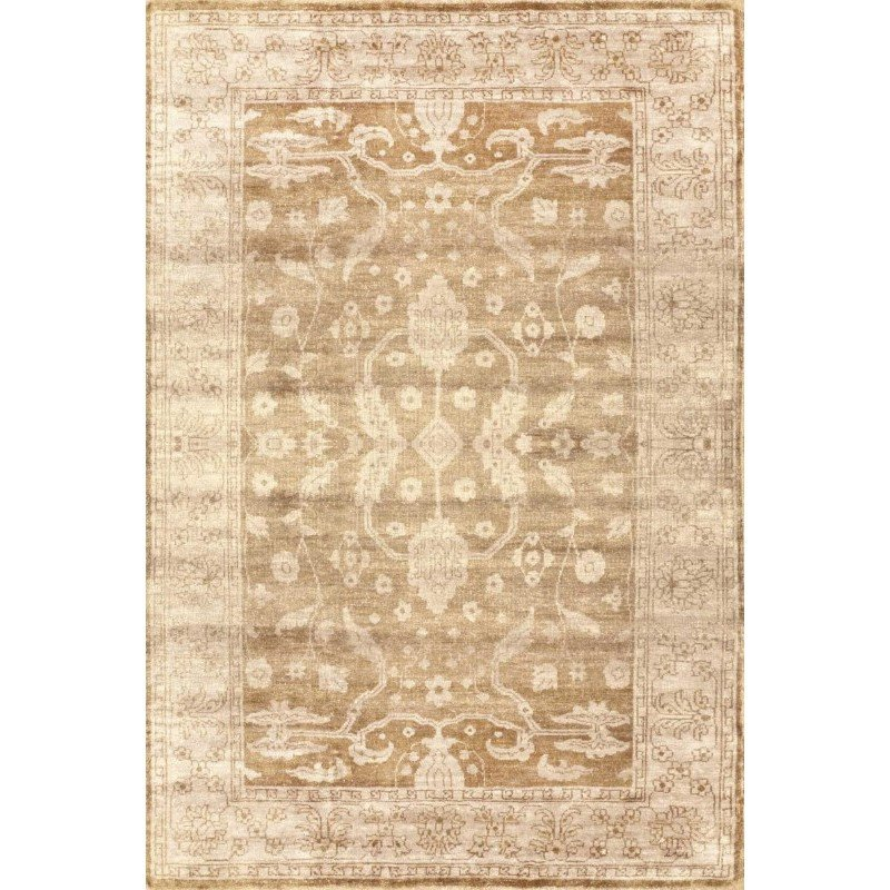 nuLOOM Hand Knotted Kazuko Rug 6' x 9' Beige Rectangle (PCOV16A-609)