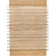 """nuLOOM Hand Loomed Denise 7' 6"""" x 9' 6"""" Rectangle Rug in Natural (SSND01A-76096)"""