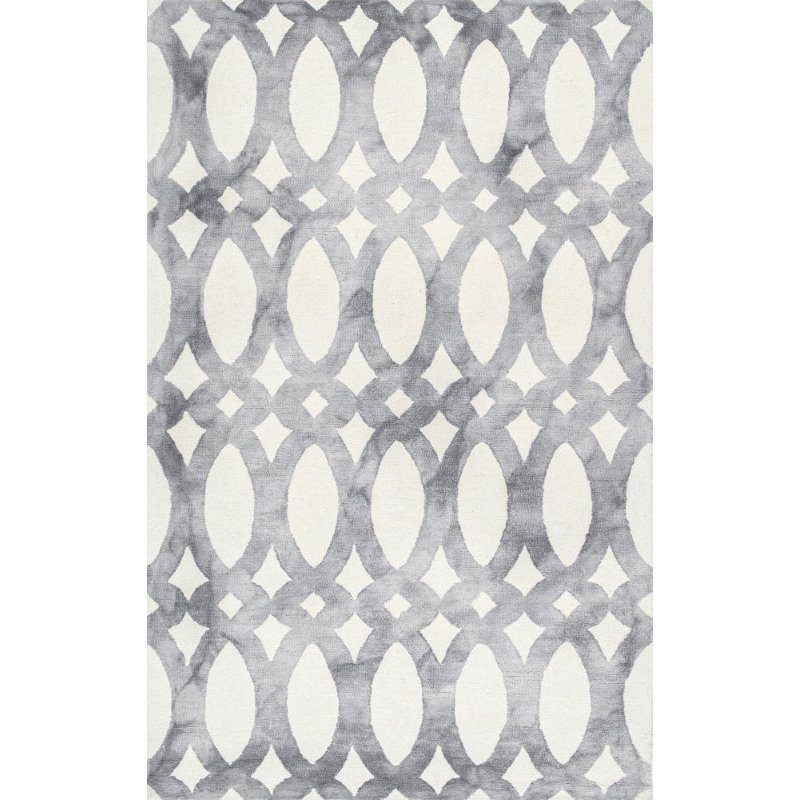 "nuLOOM Hand Looped Nellie 9' 6"" x 13' 6"" Rectangle Rug in Grey (VCDD01C-960136)"