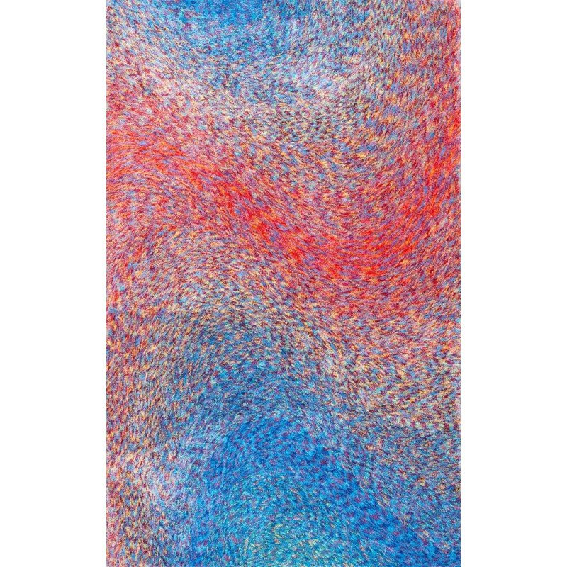 nuLOOM Hand Tufted Abstract Adria Rug 5' x 8' Multi Rectangle (HJBO01A-508)