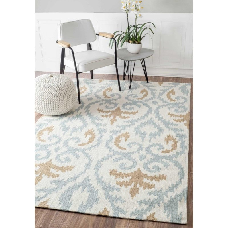 nuLOOM Hand Tufted Anisa Rug 5' x 8' Beige Rectangle (BHBC12A-508)