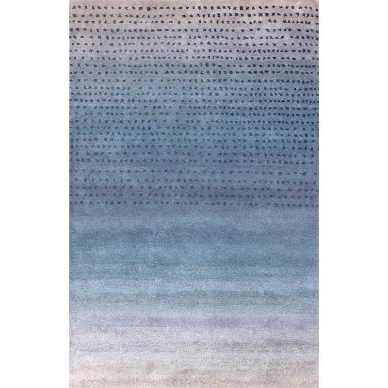 "nuLOOM Hand Tufted Blush Rug 2' 6"" x 8' Blue Runner (MTVS37B-2608)"
