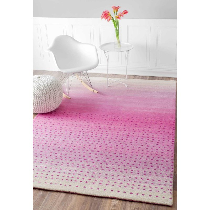 nuLOOM Hand Tufted Blush Rug 3' x 5' Pink Rectangle (MTVS37A-305)