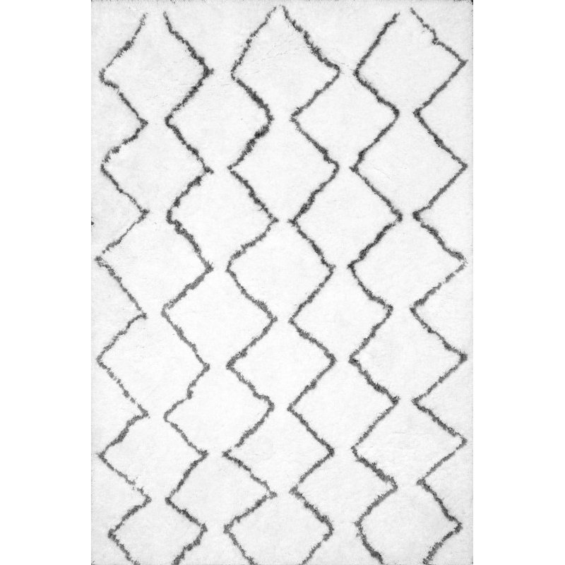 nuLOOM Hand Tufted Corinth Rug 6' x 9' Natural Rectangle (HJMRC2A-609)