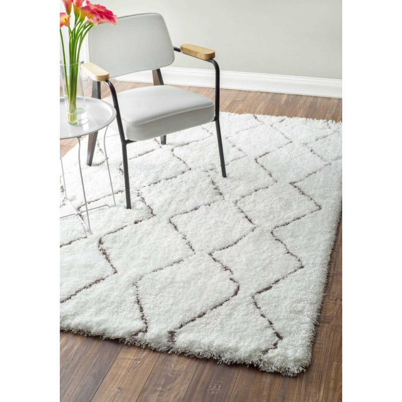 nuLOOM Hand Tufted Corinth Rug 8' x 10' Natural Rectangle (HJMRC2A-8010)