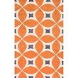 nuLOOM Hand Tufted Gabriela Area Rug 5' x 8' Deep Orange Rectangle (BHBC55A-508)