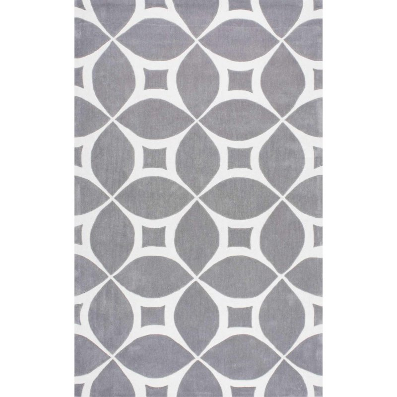 "nuLOOM Hand Tufted Gabriela Area Rug 8' 6"" x 11' 6"" Grey Rectangle (BHBC55G-860116)"